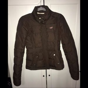 Hollister: Down Jacket (Size Small)
